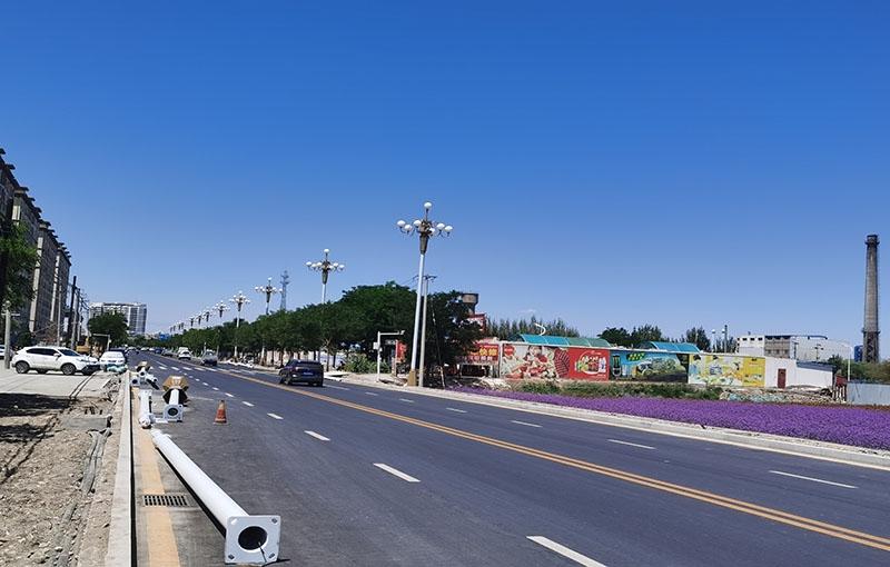 酒泉地区市政道路